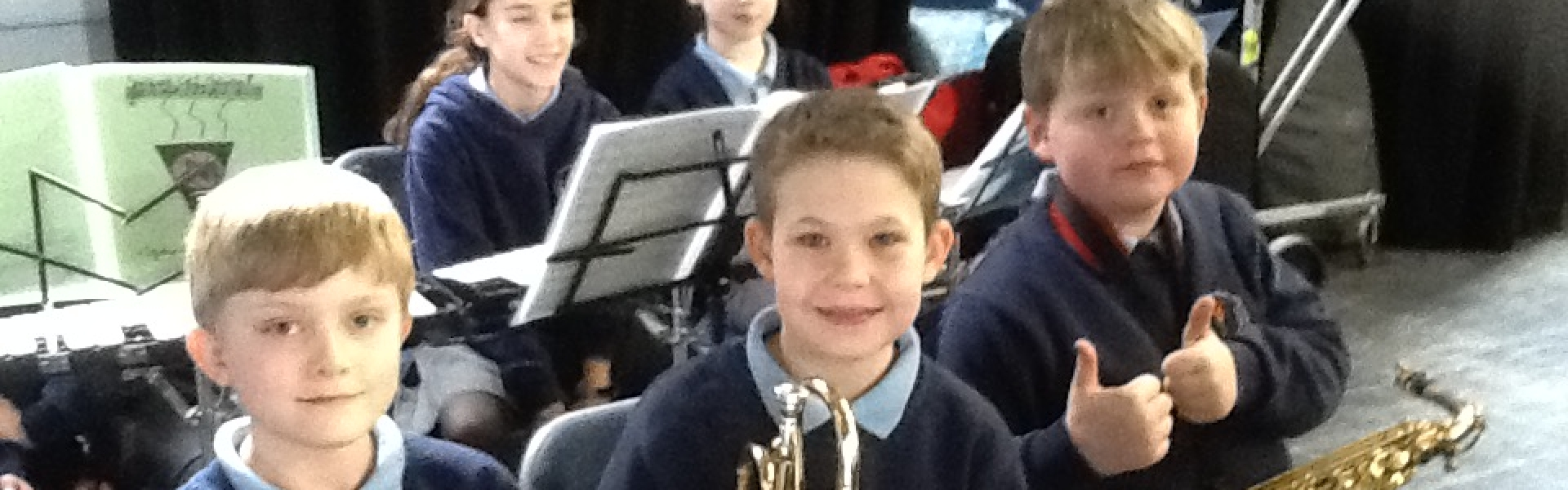 Brass, woodwind and percussion afternoon at Sandbach School